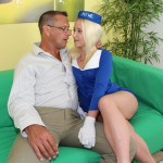 Flight attendant Shelby Paige makes a kinky personal house call