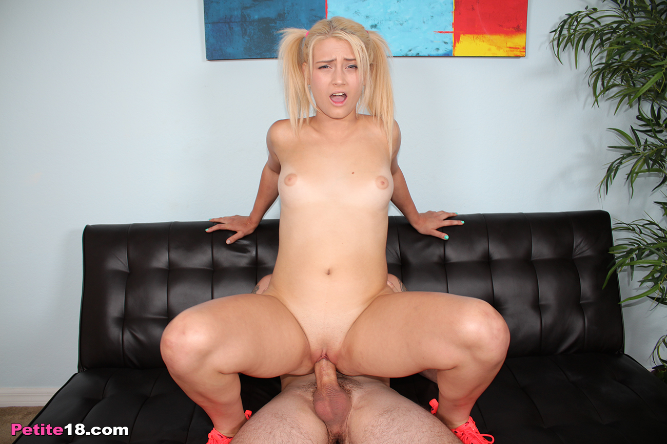 Aubrey Gold riding a big dick
