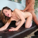 Lucy Dunne doggystyle fuck
