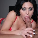 Mia Pearl Swallows A Monster Cock And Almost Chokes