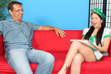 Horny Teen Gianna Love Selling Cookies To Get Fucked Hard - Picture 2