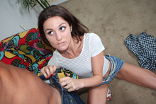 Tiny Teen Spinner Renee Get A Hard Fucking Action - Picture 3
