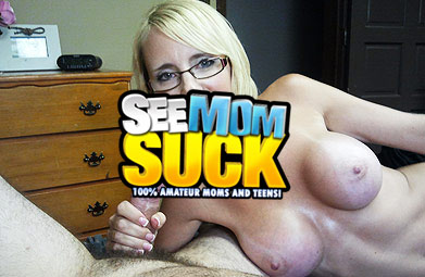 See mom suck - Hot Mom and Teen Blowjob Videos